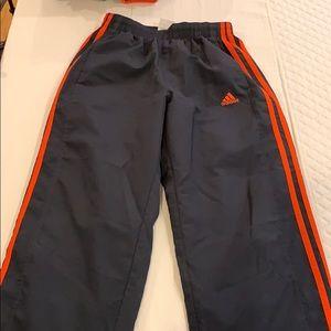 Boys Adidas light weight basketball pants
